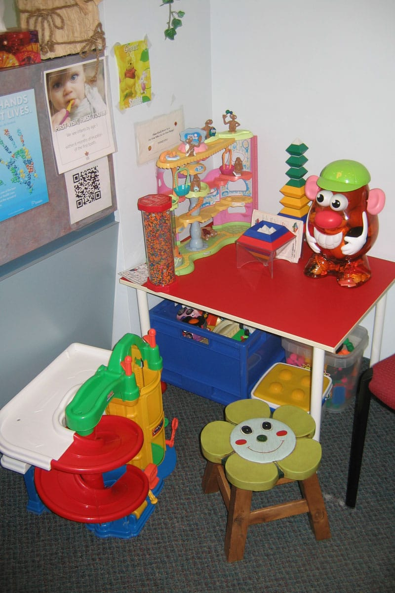 Children's Play Area at Orleans Family Dentist