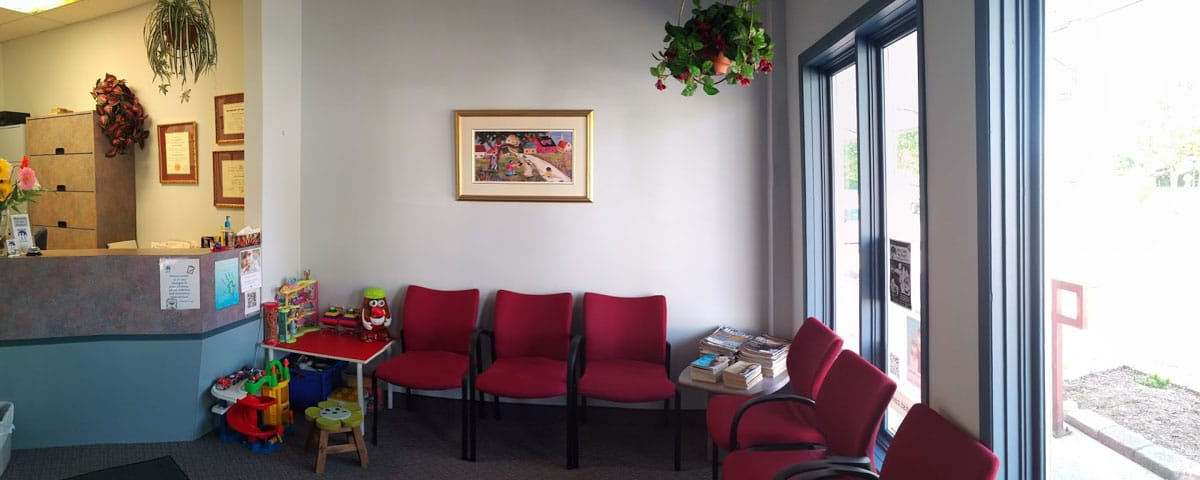 Waiting Room at Orleans Family Dentist